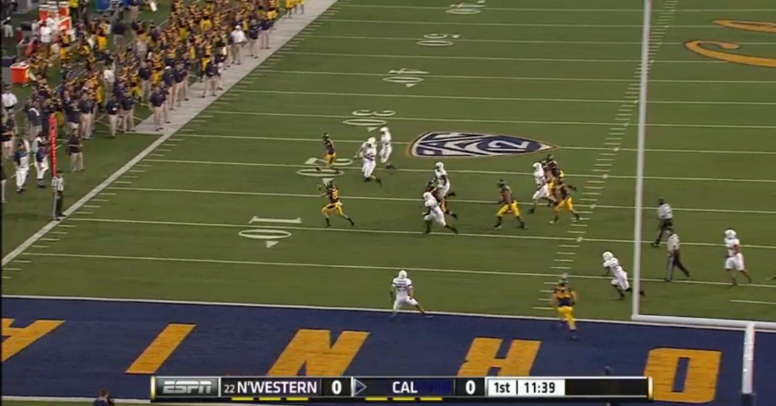 California Golden Bears Fake Field Goal Touchdown