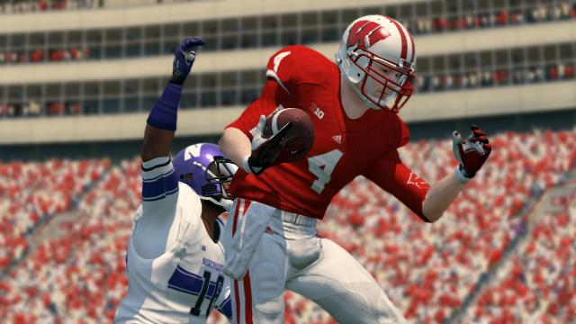 Wisconsin might be known for its running game, but wide receiver Jared Abbrederis had a big game.