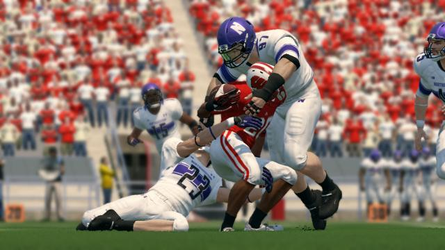 Northwestern came into the game with a focus on stopping the Badgers' run game.