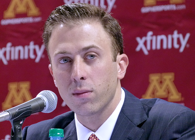 Rich Pitino is in his first year as the head coach at Minnesota. Jana Freiband/ MinnPost