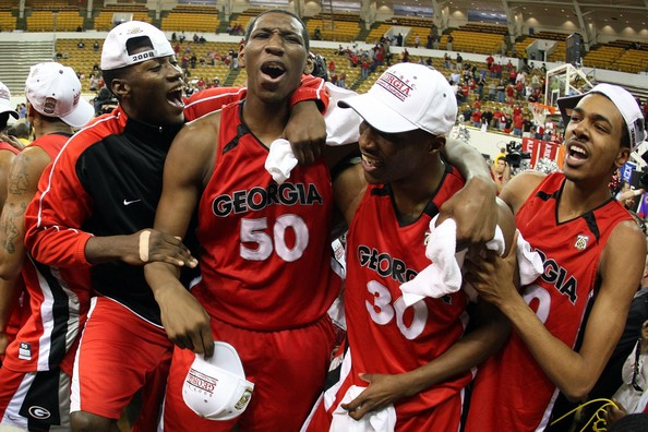 Georgia earned a trip to the 2008 NCAA tournament with a run that won the SEC Tournament. (Chris Graythen/Getty Images North America)