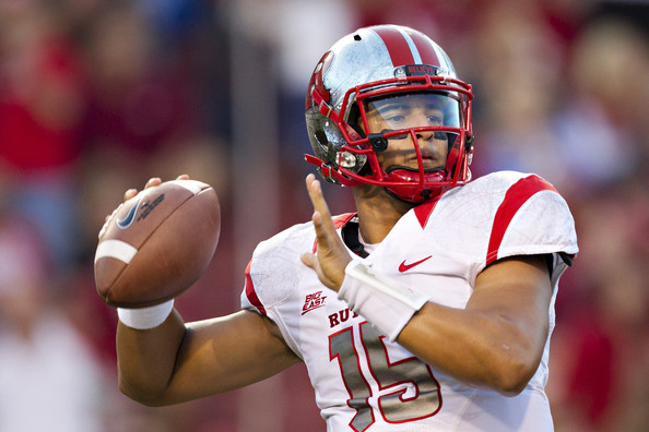 Gary Nova hopes to lead Rutgers as they start their first year in the Big Ten