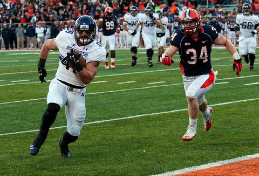 Vitale will look to be a key part of the offense as Northwestern's premier superback