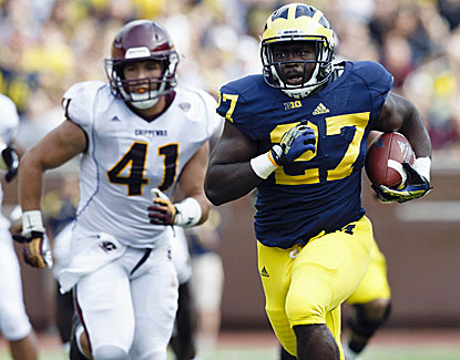 Derrick Green looks poised to take over the Michigan running game