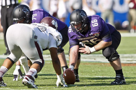 Vitabile will look to lead the 'Cats offensive line in his final season