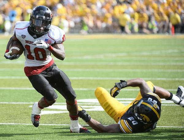 Tommylee Lewis and Northern Illinois left Iowa in the dust last season? How can the Wildcats avoid becoming NIU's latest Big Ten victim? Photo credit: Mike DiNovo, USA Today