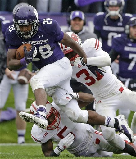 Freshman Justin Jackson led Northwestern through 17th-ranked Wisconsin on Saturday. Max Gelman breaks the game down. Photo Credit: Nam Huh. AP