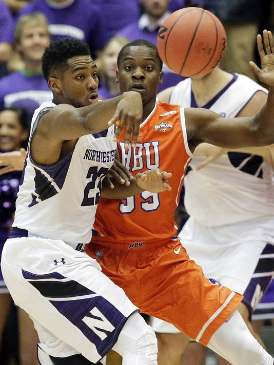 Northwestern's Jershon Cobb did not shoot well against Houston Baptist, but rebounded with a solid performance at Brown. What can Wildcat fans expect from the team's senior leader this week? Photo credit: USA Today Sports.