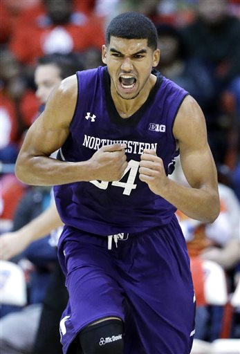 Which games on Northwestern's non-conference schedule will make Sanjay Lumpkin give himself a fist-bump in excitement? Photo Credit: Nam Y. Huh, AP.