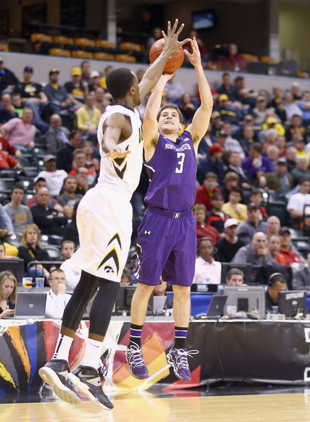 Dave Sobolewski made it rain from downtown in the Big Ten tourney first round against Iowa last year. Can he keep it going in 2014-2015?
