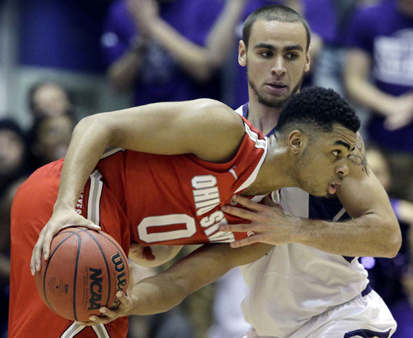 D'Angelo Russell showed Northwestern why he is a Big Ten player of the year and freshman of the year candidate in January. Do Ben and Jason hand the youngster any hardware? Photo credit: Nam Y. Huh, AP.