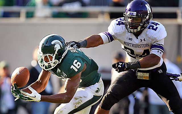 Safety Ibaheim Campbell has a chance to be the first Northwestern player drafted this year. Photo credit: USATSI