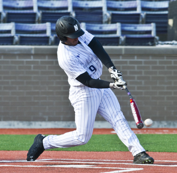 Outfielder Kyle Ruchim was a bright spot for Northwestern this season, leading the team in home runs, slugging percentage and on-base percentage.