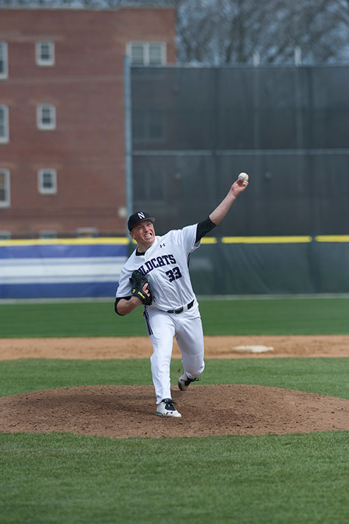 Matt Portland was selected by the Kansas City Royals in the 17th round. Photo credit: Northwestern athletics.
