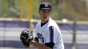 Brandon Magallones was the second Wildcat off the board, going to the White Sox in round 24. Photo credit: Northwestern Athletics.