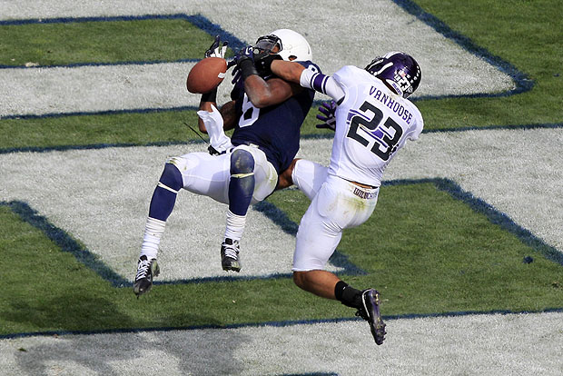 Can VanHoose lead Northwestern's defense in 2015? Photo Credit: AP Photo/Gene J. Puskar