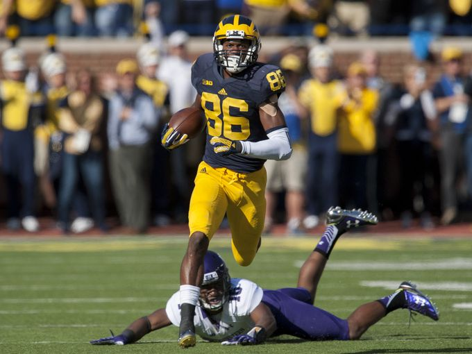 Jehu Chesson took the opening kickoff back, and it was all downhill from there for the Wildcats.