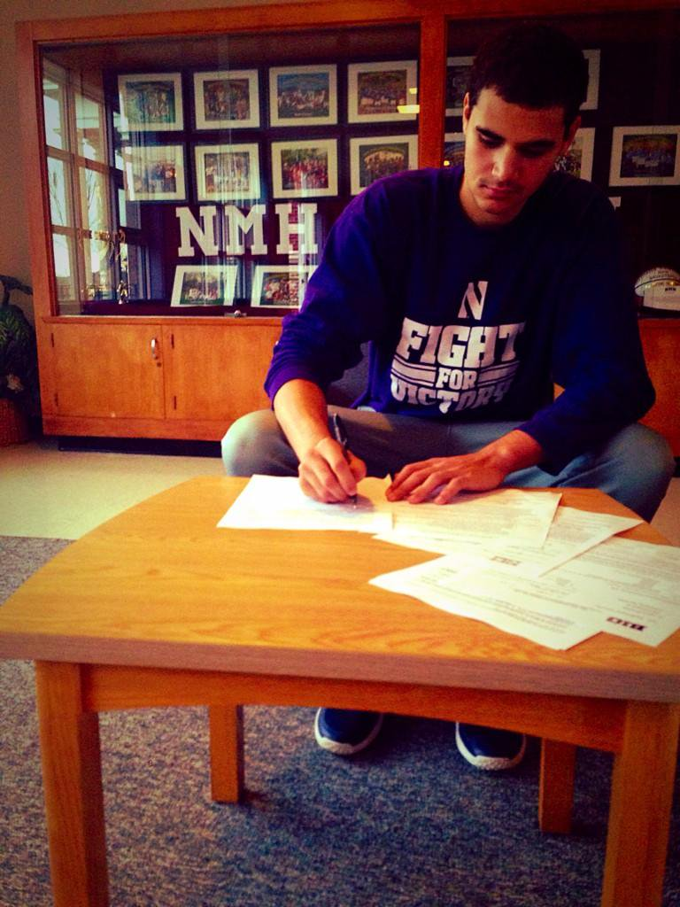 When Aaron Falzon put pen to paper, the Wildcats snagged their second four-star recruit in as many years.