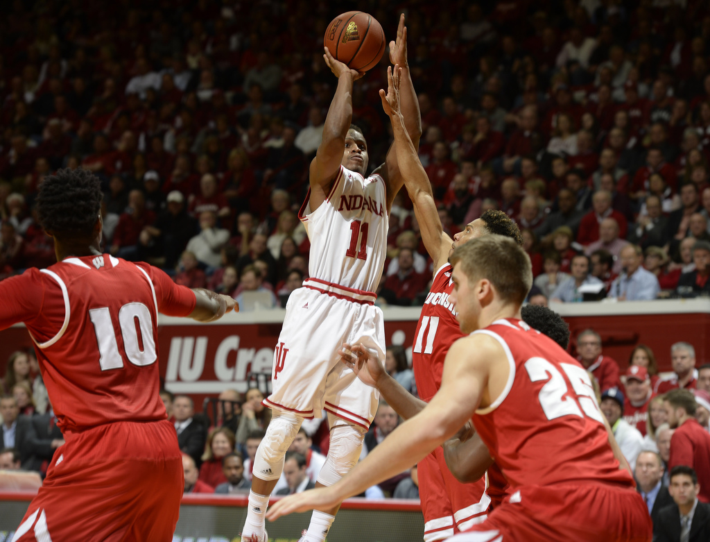 Yogi Ferrell and the Hoosiers are rolling right now, while their in-state rivals have stumbled a bit. Photo Credit: Chris Howell/Herald-Times