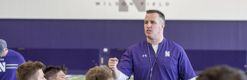 Pat Fitzgerald and the Wildcats will meet Tulane on the football field this fall.