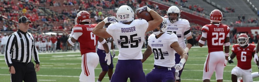 Northwestern running back Isaiah Bowser headlines the unit for the upcoming season.