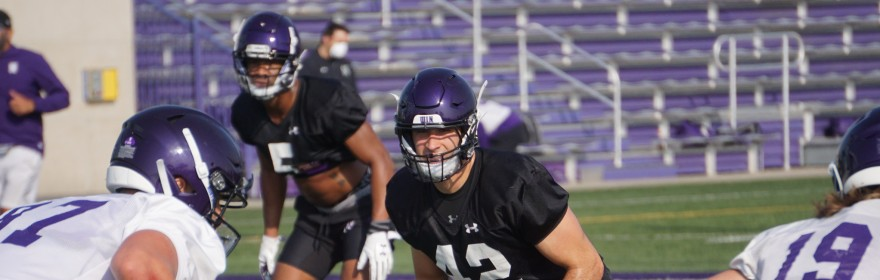 Northwestern's defense must manage the opt-outs of Samdup Miller and Travis Whillock when it takes on Maryland Saturday.