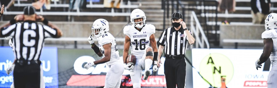Northwestern struggled last season to create momentum-changing plays. In 2020, the Wildcat defense has generated them at will.